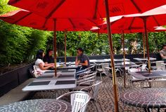 School Bakery & Cafe - Brunch & Awesome Liberty Village patio