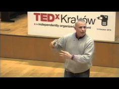 """TEDxKrakow - John Scherer - nie chodzi o to by robić i mieć ale to ty """"być"""" ... rzuć robotę i znajdź zajęcie"""