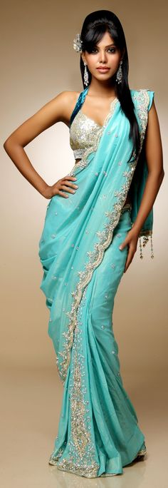 Saree blouse Bollywood Fashion
