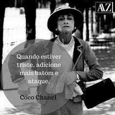 7c67818b319 ✨Coco Chanel simplesmente referência quando o assunto é moda. Ícone da  beleza e da