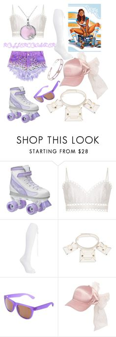 """""""Lady Rollercoaster Style"""" by ahuserapx ❤ liked on Polyvore featuring Zimmermann, Prada, STELLA McCARTNEY, Zeal Optics, Puma and Chopard"""