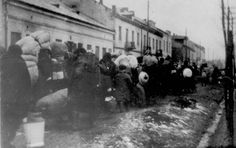 February 1941, Jews from Gora Kalwaria, Poland, who were deported to the Warsaw Ghetto