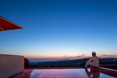 """A sky looking like a mastrerpiece of art at the """"Art Hotel Santorini"""".... (Christos Drazos Photography)"""