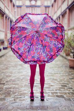 #dresscolorfully statement umbrella