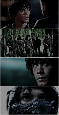 Bellamy Blake in the season 3 trailer || I've watched this trailer multiple times already! I CAN'T WAIT!