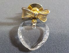Vintage Avon Signed Bow Clear Heart Pin | Jewelry & Watches, Vintage & Antique Jewelry, Costume | eBay!