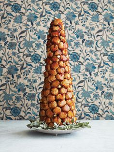 Croquembouche. Because profiteroles are about the tastiest thing in the world.