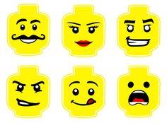 Pack de 6 designs Lego par Partyummy sur Etsy