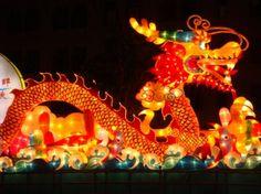 Dragon Lantern at Mid-Autumn Festival 2010, Singapore