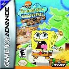 SpongeBob SquarePants Revenge of the Flying Dutchman Nintendo Game Boy Advance