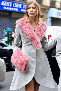 12 Lessons From Fashion Week Street Style New York Fashion, Star Fashion, Womens Fashion, Street Chic, Street Style, Russian Fashion, Russian Style, Cute Summer Outfits, Autumn Fashion