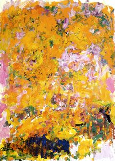 Joan Mitchell - Begonia, 1982 | Flickr - Photo Sharing!