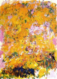 Joan Mitchell - Begonia, 1982 | Flickr - Photo Sharing!