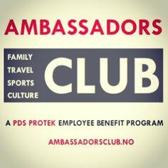 Vi er i gang! Nettsidene til #Ambassadørklubben er oppe! www.ambassadorklubben.com Velkommen til alle ansatte og deres familie! Ha en fin he... Employee Benefit, Family Travel, Club, Family Trips, Family Vacations, Family Destinations