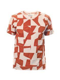 Maison Martin Margiela Dissected jigsaw-print T-shirt