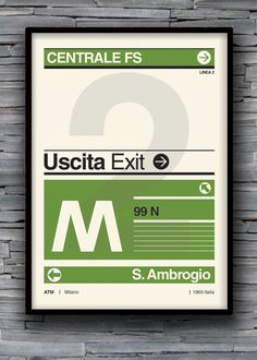M1/M2/M3 Milano by Susanna Castelli, via Behance