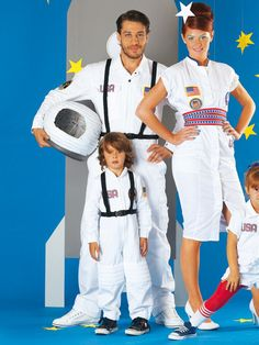 Weltraum-Look