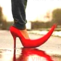 You could murder someone with this shoe for sure...