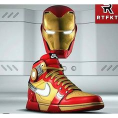Nike Air Shoes, Air Jordan Shoes, Sneakers Nike, Marvel Shoes, Marvel Clothes, Custom Sneakers, Custom Shoes, Estilo Geek, Foto Top