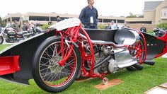 Burt Munro's Indian streamliner