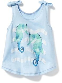 Sea Graphic Tanks for Baby  Product Image