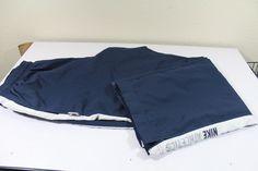 NIKE men  pants (XXL)  blue 100% polyester pre-owned  #Nike