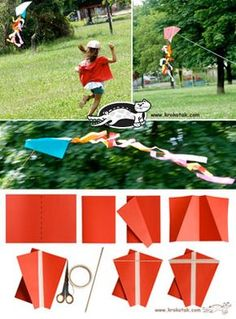 Еasy and Pretty DIY KITE