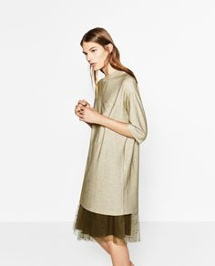 DRESS WITH POCKET-DRESSES-WOMAN | ZARA United States