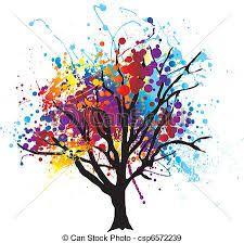 """Résultat de recherche d'images pour """"peinture feuilles d'arbre"""""""