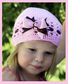 Christian Clothing | Faith Baby | Sweet Loren Crochet Beanie  FaithBaby.com