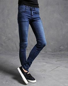 K-POP Men's Fashion Style Store [TOMSYTLE]  Jeans Blue Skinny / Size : S,M,L,XL / Price : 41.31 USD #mensfashion #Kpop #boy #fashion #unique #TOMSTYLE #OOTD #pants #skinny #jeans #blue #dailypants