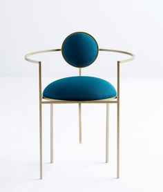 Lara Bohinc takes cues from celestial forms for first seating collection Design Furniture, Furniture Sale, Chair Design, Classic Furniture, Unique Furniture, Rustic Stools, Black Dining Room Chairs, Steel Furniture, Home Decor Bedroom