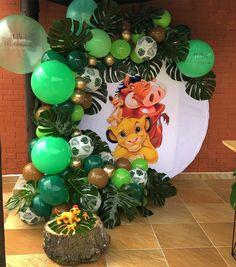 Lion King Birthday, Jungle Theme Birthday, Baby Boy 1st Birthday Party, Jungle Party, Lion King Theme, Lion King Party, Lion King Baby Shower, Shower Bebe, Le Roi Lion