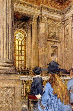 The Chapel at the Château de Versailles by Edouard Vuillard, 1917-19