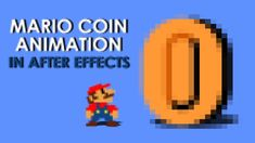 Mario coin animation in After Effects