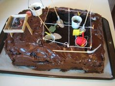 Yet another archaeology cake I want!