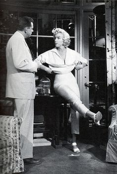 Marilyn and Tom in Seven Year Itch | by thefoxling