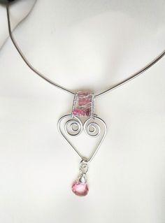 Florina Ravariu Jan 2021 Collection jewelry. Silver Heart with Pink tourmaline and Pink Quartz faceted teardrop. Pink Quartz, Pink Tourmaline, Heart, Silver, Collection, Jewelry, Rose Quartz, Jewlery, Money