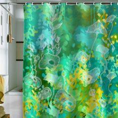 DENY Designs Stephanie Corfee Green Tea Shower Curtain, 69 by 72-Inch by DENY Designs, http://www.amazon.com/dp/B008AJLSPO/ref=cm_sw_r_pi_dp_1eNMrb007KXN6
