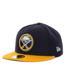 New Era Buffalo Sabres Basic 59FIFTY Cap - Navy/Yellow 7 3/8