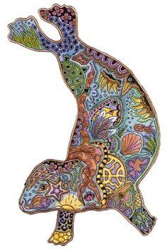 30 Best Sue Coccia Images Spirit Animal Coloring Pages