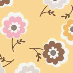 Riley Blake Designs Daisy Cottage Mini Floral Yellow by Lori Holt