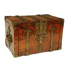 Coffre fort   From a unique collection of antique and modern boxes at https://www.1stdibs.com/furniture/decorative-objects/boxes/