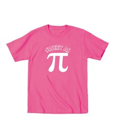 136cbc0ce149 Another great find on  zulily! Raspberry  Sweet As Pi  Tee - Toddler