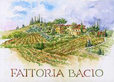 Everyday Artist: Step-by-Step Watercolor: Fattoria Bacio