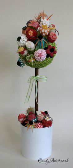 Floral Fantasy Sweet Tree by www.candyartist.co.uk