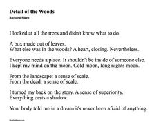 richard siken, detail of the woods The Words, Richard Siken, Stefan Zweig, Say More, Poem Quotes, Sweet Nothings, Story Inspiration, Writing Prompts, Beautiful Words