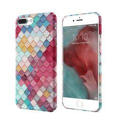 Cute Phone Case Mermaid 3D Fish Scale Cover