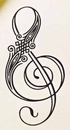 Image result for treble clef art