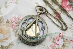 antique bronze Assassin's Creed jewelry pocket by tamaraflying, $7.48